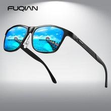 Мужские поляризационные солнцезащитные очки fuqian коллекция