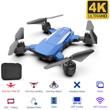 New Drone F84 WiFi Drone Long Battery Life RC Folding Quadcopter 4K HD Aerial Photography Remote Control Toys Ready-to-Go wingsland s6 folding pocket drone 4k aerial photography