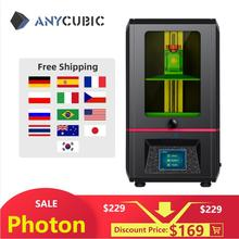ANYCUBIC Photon 3d Printer Light Cure Touch Screen LCD SLA 3d Printer With 405nm UV Resin impressora 3d Printer Kit impresora 3d