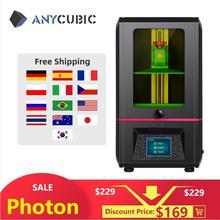 Anycubic光子3dプリンタライト硬化タッチスクリーン液晶sla 3dプリンタと405nm uv樹脂impressora 3dプリンタキットimpresora 3d