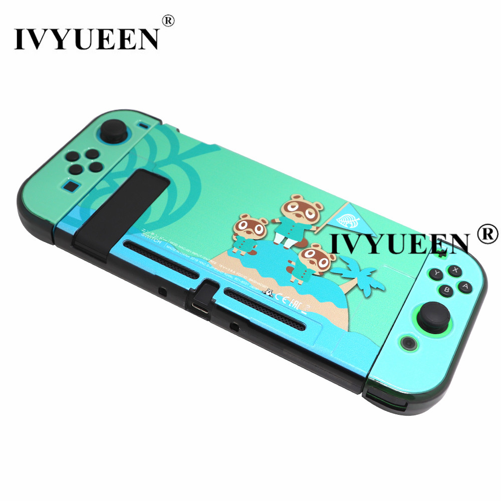 IVYUEEN For NintendoSwitch NS Console Animal Crossing Protective Hard Case Shell For Nintendos Switch Cover Game Accessories