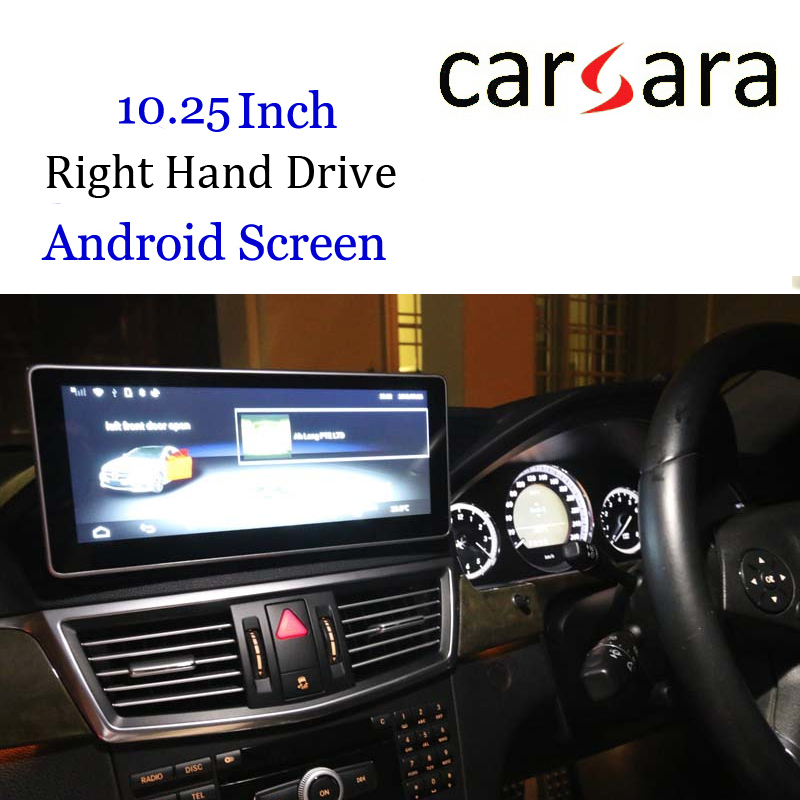 Touch Screen W212 W211 DVD <font><b>GPS</b></font> <font><b>Android</b></font> Display <font><b>Car</b></font> Video Audio Infotainment Interface Vehicle Navi Device For RHD E Class 10-12 image
