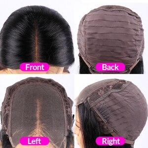 Image 5 - Rechte Kant Front Pruik Pre Geplukt Menselijk Haar Pruiken Natuurlijke Kleur 4X4 5X5 6X6 7X7 Sluiting Pruik Bulk Verkoop Remy Jarin Haar