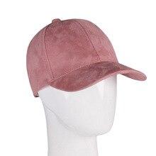 Hats Gorra-Cap Baseball-Cap Snapback Hip-Hop-Caps Suede Grey Black Women Ladies Fashion-Brand