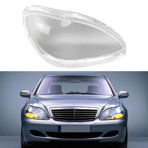Image 4 - 車のヘッドライトガラスカバヘッドランプレンズシェルクリアカバー用メルセデス · ベンツS600 S500 S320 S350 S2801998 2005