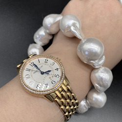 Natural Pearl Women's Spring 2021 New Baroque Bracelet White Fashion Temperament, Send Sisters and Send Mother Gifts