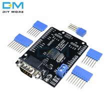 Mcp2515 ef02037 pode bus escudo controlador placa de comunicação velocidade alta pode v2.0b módulo para arduino para freaduino kit diy