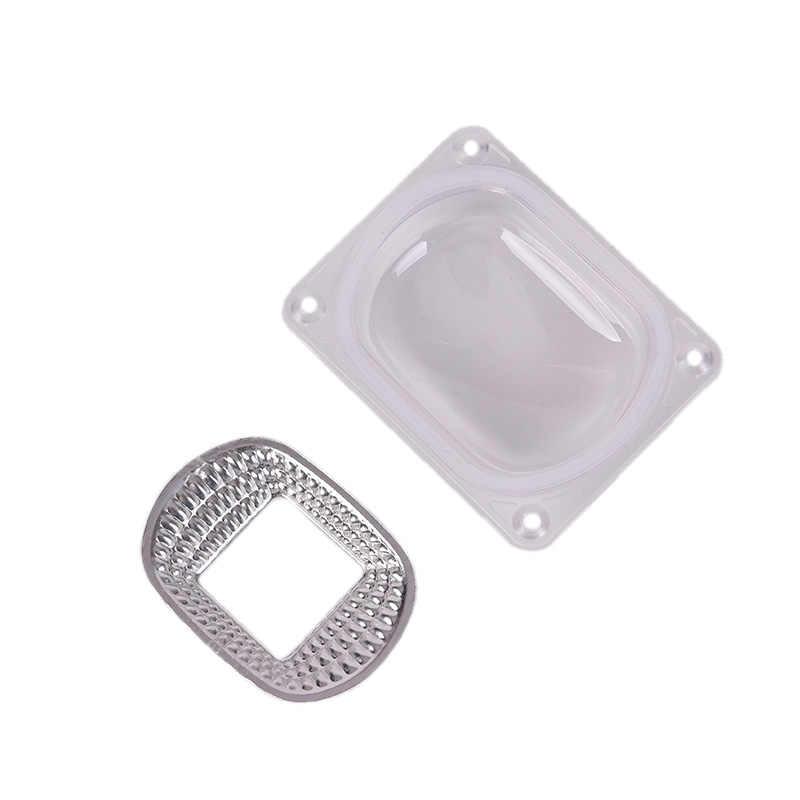 7,8 cm X 6cm Reflector de lente anillo de silicona para 20w/30w/50w LED COB AC220V 110V lámpara de Reflector LED DIY