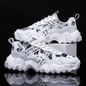 Мужская повседневная обувь; модные трендовые кроссовки; Мужская Спортивная Уличная обувь на шнуровке; chaussure homme Tennis Masculino droping; Новинка 39-44