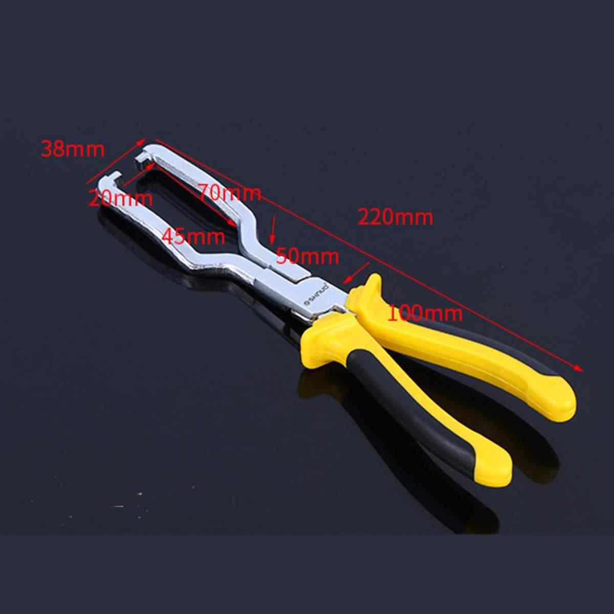 Przewód paliwowy benzyny klip szczypce wąż Release odłącz usuwania narzędzie do naprawy rur