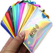 Card-Holder Reader-Lock Bank Credit-Card-Bag Protect Aluminium-Card-Case Laser Blocking