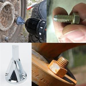 Image 5 - Stainless Black Steel Deburring Chamfer Drill External Hardness Drill Bit 8 32 Bolts Strength Copper Brass Fiberglass