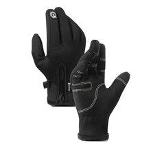 CUHAKCI – gants de vélo antidérapants, imperméables, chauds, coupe-vent, pour le Ski et le cyclisme