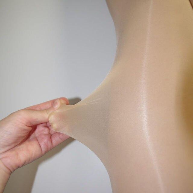 ultra-thin sexy 8D oily shine look pantyhose 4