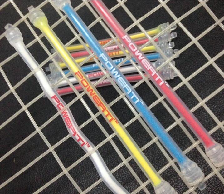 1 Piece Original Brand POWERTI Tennis Vibration Dampener To Reduce Tenis Racquet Vibration Dampeners Raqueta Tenis