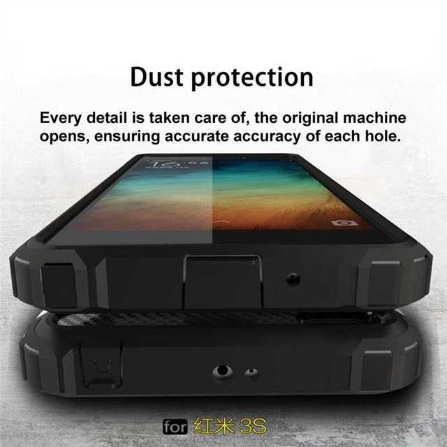 Mokoemi Iron Armor Shock Proof 5 0 For Xiaomi Redmi 3s Case For Xiaomi Redmi