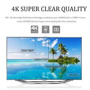 Image 2 - Кабель HDMI в HDMI 2,0 4k HD 1080P 3D, высокоскоростной адаптер HDMI для ТВ проектора, компьютера, 1 м, 1,5 м, 2 м, 3 м
