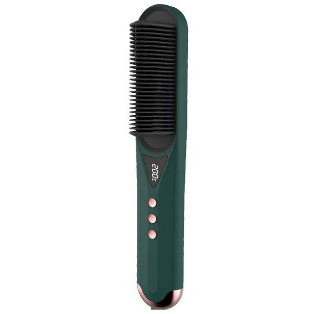 Beauty care straightening comb, multifunctional hot air comb, negative ion Curling hair dual-purpose electric hair straightener