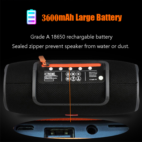 Super Bass Stereo For Comuter PC Speakers with FM Radio BT AUX TF usb