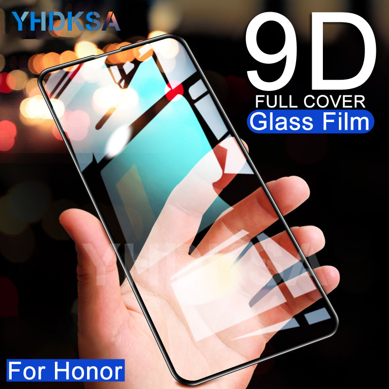 9D Protective Glass On The For Huawei Honor 9 10 Lite 9X V10 Honor 20 8 Lite 8X V20 Tempered Screen Protector Safety Glass Film