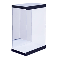 26 x 20 x 40cm 1/6 30cm Action Figure Display Case Dustproof Acrylic Carving Showcase Box with Lights 2020 new arrival