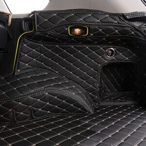 Image 4 - Alfombrilla para maletero de coche, revestimiento de maletero, suelo de carga, bandeja protectora, accesorios, alfombrillas, para Toyota RAV4 XA50 2019