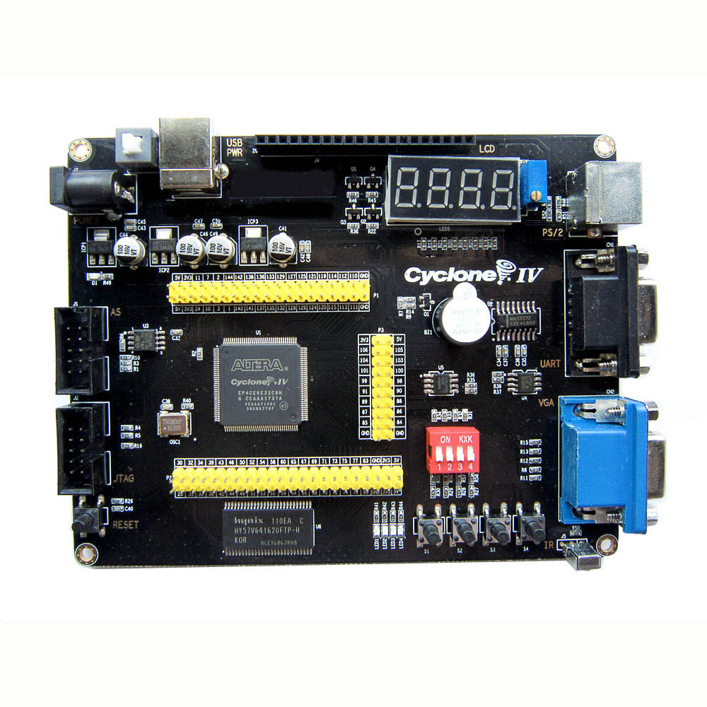 Image 2 - Altera Cyclone IV EP4CE6 FPGA Development Board NIOSII EP4CE PCB and USB Blaster Jtag AS Programmer-in Integrated Circuits from Electronic Components & Supplies