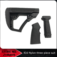 Tactical Airsoft Ultra-dünne gummi beschichtet motor M4 geändert LDT416 HK416 grip Lager nylon zubehör