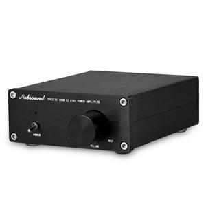 Image 3 - مكبر صوت دوك 200 وات صغير HiFi TPA3116D2 مضخم طاقة رقمي ثنائي القناة ستيريو موسيقي صوتي منزلي مكبر صوت