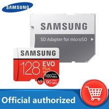 Cartão micro sd original de samsung 128gb classe 10 cartão de memória evo + evo mais micro sd 512gb 256gb 64gb 8gb tf cartão de memória