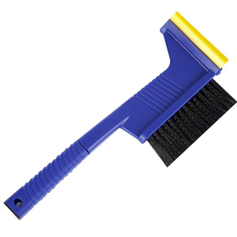 Hukezhu Ice Scraper Car Snow Brush for Car with Snow Brush 2-in-1 Windshield Removal Tool with Foam Grip for Car SUV Van and Truck