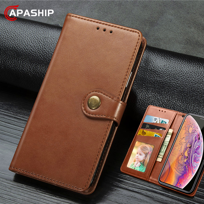 Business Leather Flip <font><b>Case</b></font> For <font><b>Huawei</b></font> Mate 30 P30 Lite Pro Cover For Honor 9X Y5 <font><b>Nova</b></font> <font><b>5T</b></font> 5i <font><b>Cases</b></font> P30Pro Wallet Retro Phone Bags image