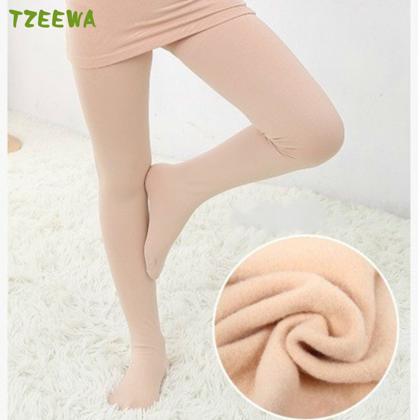 New 2019 Kids Tights Winter Warm Tights For Girls Children Stocking Kids Pantyhose Thicker Dance Stocking For Girls Tights