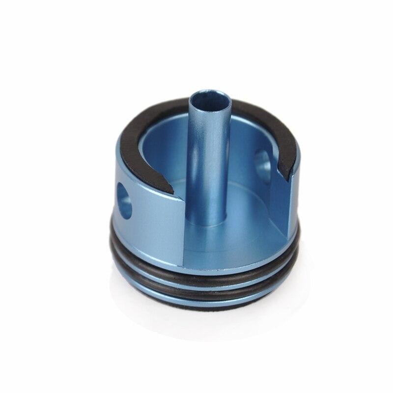 Elemento CNC 7075 CylinderHead Alumínio para Caixa