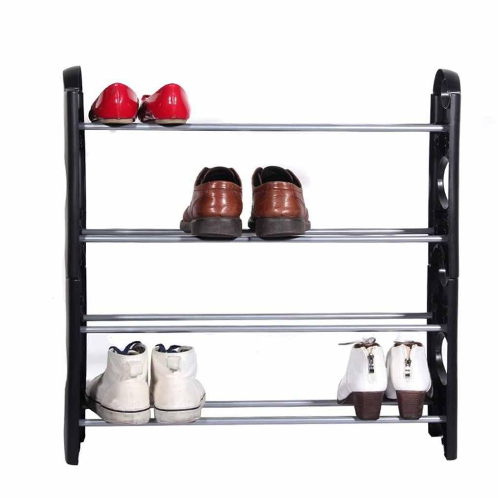 Estante con niveles de almacenamiento para zapatos, armario de pie, torre, diseño exquisito, duradero, precioso, 10 \ 6 4