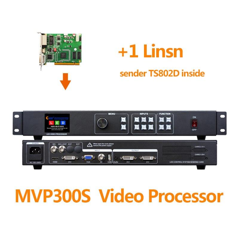 Image 2 - Processeur vidéo SDI MVP300S avec carte denvoi led couleur ts802d msd300 s2 t901 en écran led dintérieur p5Stade Audio   -
