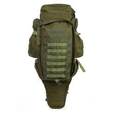 Outlife 60L plecak taktyczna wojskowa torba plecak do polowania strzelanie Camping Trekking turystyka podróżna tanie tanio 215060601 Hiking mounting Rama zewnętrzna NYLON 1000D nylon 50kg 14 17 to 35 inches 89 x 34 x 15cm 35 x 13 38 x 5 9 inches