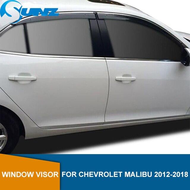Cửa Sổ Bên Chắn Dành Cho Xe Chevrolet Malibu 2012 2013 2014 2015 2016 2017 2018 Cửa Sổ Che Sâu Chống Ồn Mưa Bảo Vệ SUNZ