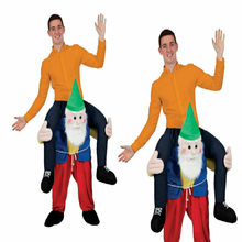 Carry Ride On Me Natale Costume Da Spalla piggy back Fancy Dress Party vestito adulto