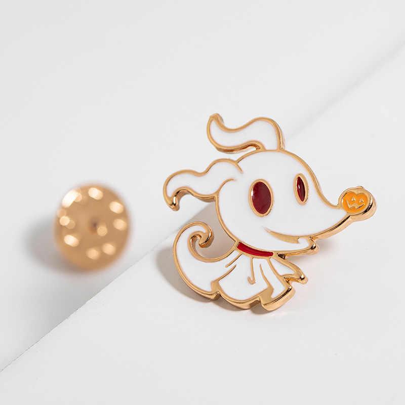 1 Pc Creatieve Anime Emaille Pin Leuke Uitdrukking Humor Cartoon Broche Badges Denim Jasje Revers Pins Accessoires