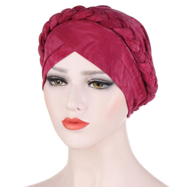 Фото мусульманские женщины крест шелковистая коса тюрбан шляпа головной цена