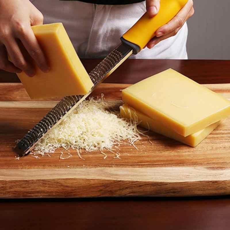 1 قطعة الإبداعية الخضار Spiralizer الليمون الفاكهة مقشرة الجبن Zester microالطائرة مبشرة الفاكهة الخضار أدوات وأدوات المطبخ