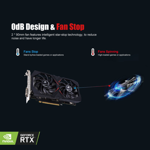 Image 5 - Bunte iGame GeForce RTX 2060 Grafikkarte GDDR6 6G V2 GPU Gaming Video Karte 1365 1680Mhz PCI E 3,0 placa de video Für PC
