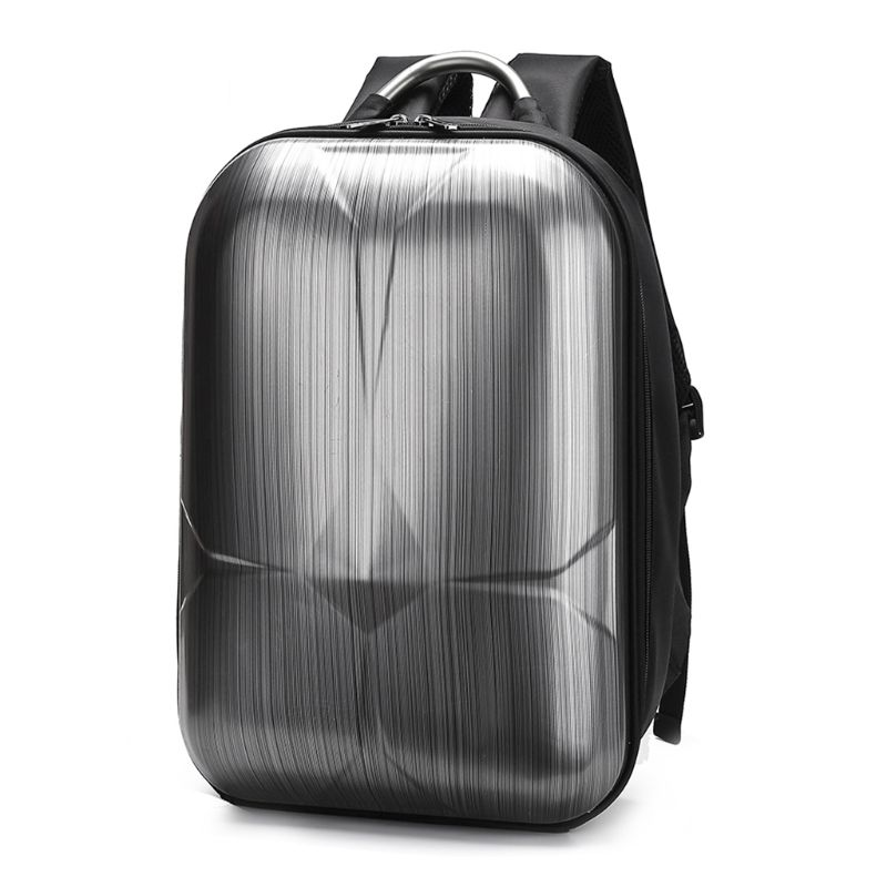 Portable Waterproof Hard Shell PC Backpack Bag with Zipper for Xiaomi X8SE Device Accessories|Camera/Video Bags|Consumer Electronics - title=
