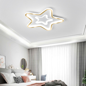 Verllas Modern LED Ceiling Lights for living room Bedroom study room Gold Ceiling lamp for boys girls(China)