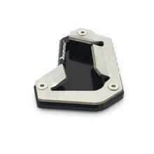 Stehen Erweiterung Unterstützt Platte Pad Für TRIUMPH TIGER 1200 EXPLORER Seite Seitenständer enlarger pad TIGER1200 Zubehör 12 2020