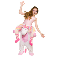 Unicorn Pants Party Dress Up Ride On Me Cosplay Costumes Carry Back Novelty Toy Halloween Oktoberfest Party Horse Riding Clothes