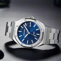 2020 nuovi orologi meccanici da uomo in rovere CADISEN da 42MM orologi da uomo automatici di lusso da uomo 100M orologio impermeabile NH35A Reloj Hombre