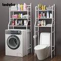 Металлический стеллаж над шкафом для туалета, стеллаж для кухни, стиральной машины, без отверстий, напольная полка, органайзер, держатель, у...