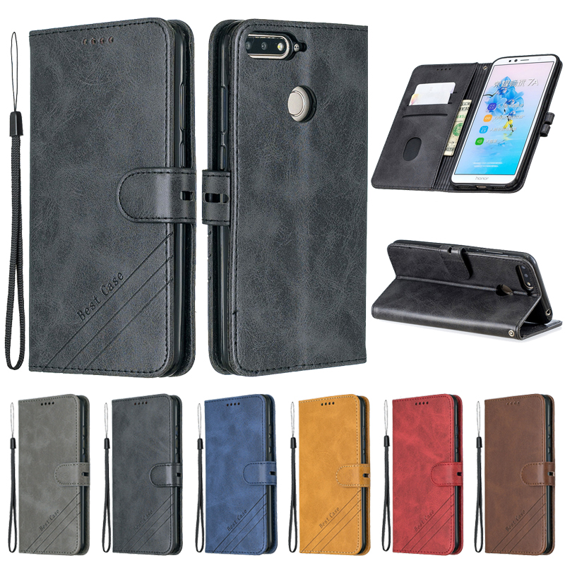 Huawei <font><b>Honor</b></font> <font><b>7C</b></font> <font><b>Case</b></font> Leather <font><b>Flip</b></font> <font><b>Case</b></font> on sFor Huawei <font><b>Honor</b></font> <font><b>7C</b></font> AUM-L41 Phone <font><b>Case</b></font> Cover 5.7 inch Luxury Magnetic Wallet Cover image